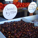 It's harvest season! Get ready for some roasted chestnuts this fall/winter.