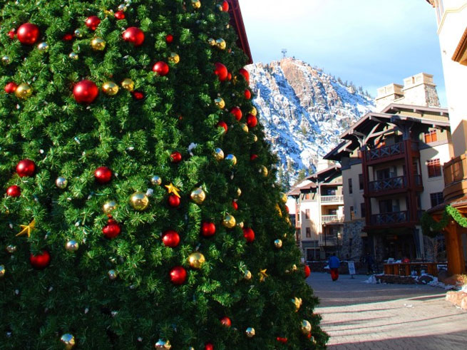 Squaw Valley Village Christmas Tree