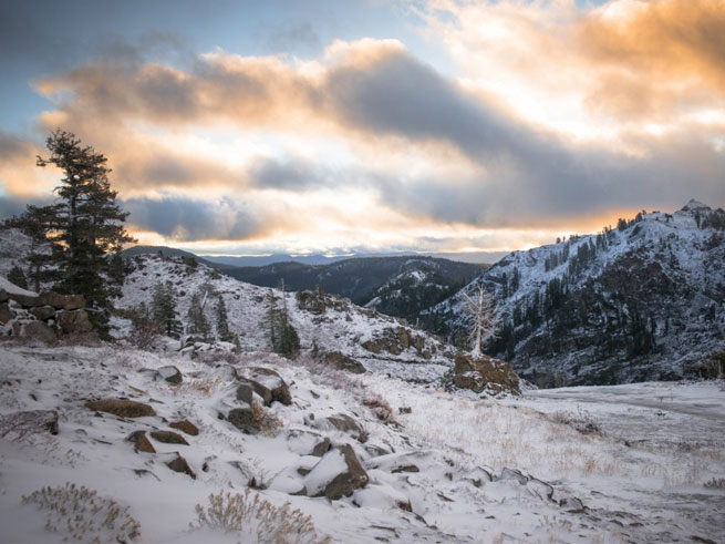 Snow at Squaw Valley
