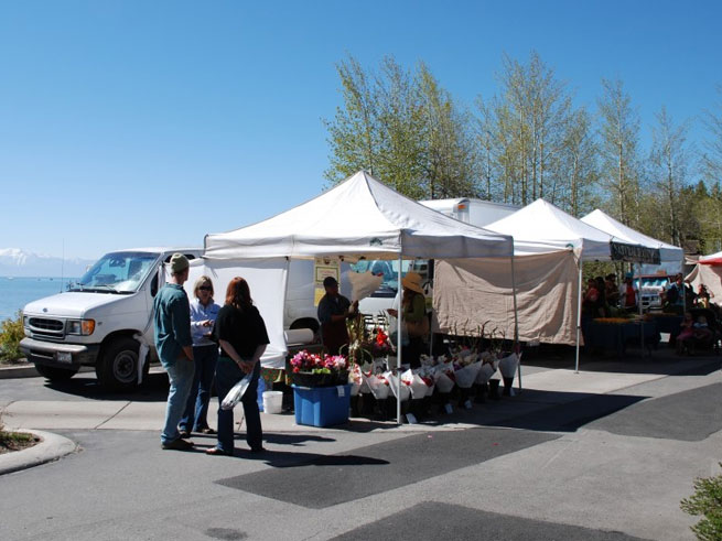 Farmers Market Tahoe City By Water