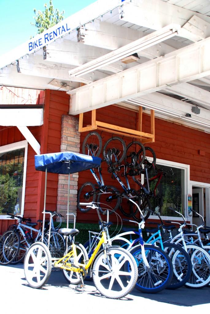 Bikes at Squaw